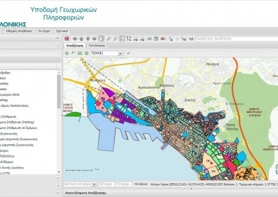 Spatial Data Infrastructure for Thessaloniki Municipality