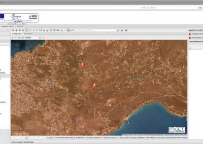 Data management application for the Municipal Enterprise of Water and Sewage of Chania for the Research Project AquaNet