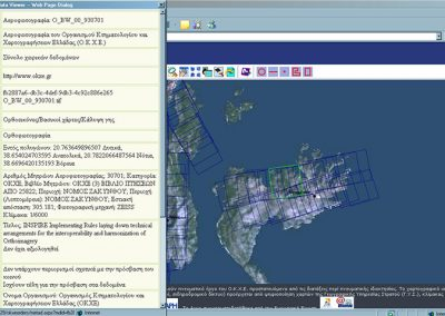 Web management and disposal system for Hellenic Mapping and Cadastral Organization data