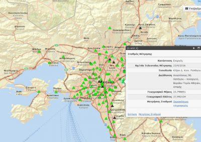 Εφαρμογή Περιβαλλοντικής Πληροφορικής για το Εθνικό Παρατηρητήριο Ηλεκτρομαγνητικών Πεδίων