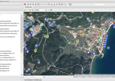 Environmental Informatics application for Enveco S.A.