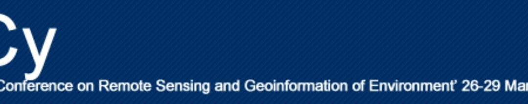 GET participates at the 6th International Conference on Remote Sensing and Geoinformation of Environment